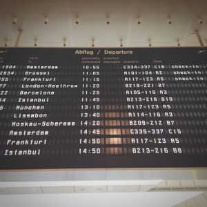 discount air flights - Airline Departure Board