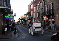 best travel destinations North America - Bourbon Street
