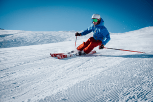 Skiing Trip Package - Downhill skier