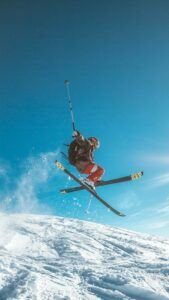 Skiing Trip Package - Jump pic