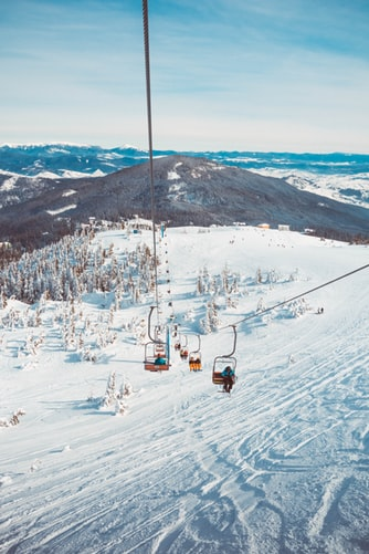 Skiing Trip Package - chair lift