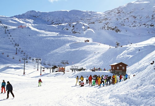 Skiing Trip Package - Pic of skiers