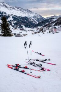 Skiing Trip Package - Pic of skiis