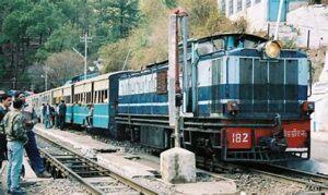 Travel Destination - pic of a train
