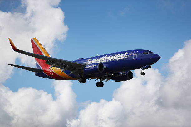 Lowest Airline Fares Online - Pic of Southwest Airlines plane